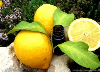 huile esentielle citron jaune