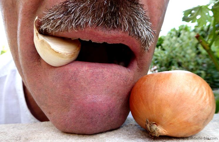 huile essentielle contre mauvaise haleine
